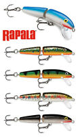 Rapala Jointed Floating Lures 7cm 4g Baitfish in Distress Balsa Wood #J07