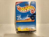 Hot Wheels Flamethrower Series Hydroplane Mattel 1:64 Scale Diecast mb772