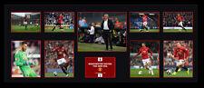Manchester United Pogba Ibrahimovic Signed Limited Edition Memorabilia Framed