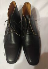 Domenico Men's Leather ankle Boots EUR 41