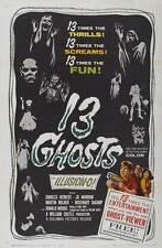 """13 GHOSTS Movie Poster [Licensed-NEW-USA] 27x40"""" Theater Size (1960)"""
