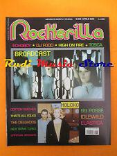 rivista ROCKERILLA 236/2000 Broadcast Moloko Tosca Cotton Mather Echoboy NO cd