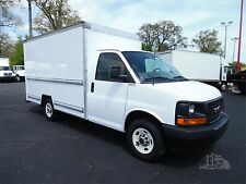 2011 GMC 3500 - 12FT BOX TRUCK ~ 8800 GVW