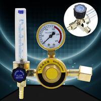 7mm Barb 1/4PT 0.15 MPA Mig Flow Meter Gas Argon AR/CO2 Regulator Welding Weld