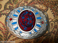 Sun Dial Snake Belt Buckle emo vintage Rocker nos Free USA Ship
