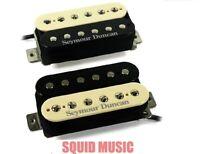 Seymour Duncan SH-4 JB & SH-2n Jazz Hot Rodded Humbucker Zebra Guitar Pickup Set