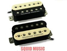 Seymour Duncan SH-4 JB & SH-2 Jazz Hot Rodded Zebra Set (FREE WORLDWIDE SHIPPING