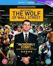 THE WOLF OF WALL STREET di Scorsese BLURAY Originale Inglese NEW PRENOTAZ.