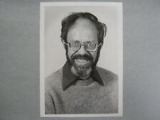 MICHAEL  ROSSMANN  Physicist/Micobiologist  Signed   5 X 7  Glossy  B & W  Photo