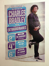 CHARLES BRADLEY & THE EXTRAODINAIRES 2014 Australian Tour Poster A2 DAPTONE *NEW