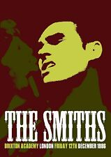THE SMITHS - CONCERT POSTER BRIXTON FRIDAY 12th DECEMBER 1986 LAST EVER GIG (A3)