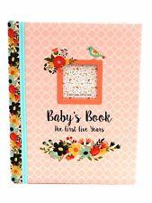Brand Anne Geddes My first five years baby record book photo album