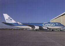 KLM Cargo , Boeing B747-400F ,Ansichtskarte, ungel.