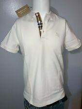 Burberry London Para Hombre De Cuadros Blancos Hartford Nova Camisa Polo S, M, L, XL, 2xl, 3xl