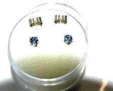 Handmade Sterling Silver Sapphire Fine Earrings