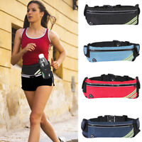 Waterproof Sport Bum Bag Fanny Pack Travel Hiking Waist Money Belt Pouch Wallet