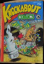 KNOCKABOUT COMICS No. 3 HUNT EMERSON UG! See pics.