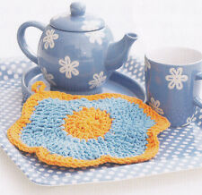 Crochet Pattern ~ PRIMROSE DISHCLOTH ~ Instructions