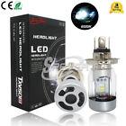 110W Integrated LED Conversion Kit H4 Hi/Lo Headlights Xenon White 6000K Bulbs
