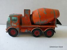 Cement Mixer Vintage Diecast Construction Equipment