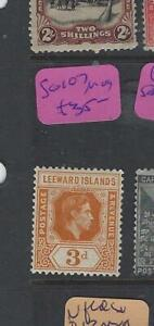 LEEWARD ISLANDS (PP2003B)  KGVI  3D    SG 107   MOG