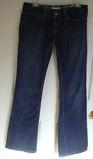 Gap Low Rise Boot Cut Dark Jeans 28 XL 6XL Womens 6 Tall Extra Long Stretch