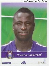 016 CHEIKHOU KOUYATE SENEGAL RSC.ANDERLECHT STICKER FOOTBALL 2012 PANINI