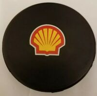 PINCHIR CREEK CHINOOKS SHELL SPONSOR VINTAGE OFFICIAL HOCKEY  PUCK RARE - CANADA