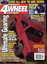 Petersen's 4 Wheel & Off-Road Magazine May 1998 Ultimate Gearing, '99 GMC Sierra