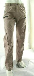 Pantaloni Uomo Jeans ENERGIE Regolare Gamba Dritta B651 Beige/Marrone Tg 33