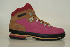 Timberland Euro Hiker Boots Size 42 US 27 11/12ft Men Hiking Lace-Up