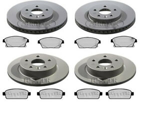 CHEVROLET TRAX FRONT AND REAR BRAKE DISCS & PADS - 2012 - ONWARD