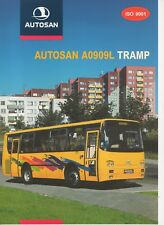 Autosan A0909L Tramp bus (made in Poland) _2001 Prospekt / Brochure