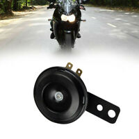 Universal Motorcycle Electric Horn kit 12V 1.5A 105db Round Loud Horn Speaker