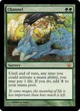 Foil CHANNEL From the Vault: Exiled MTG Green Sorcery Rare