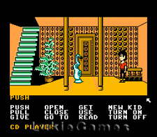 Maniac Mansion - Rare Original NES Nintendo Game