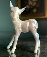 BESWICK ENGLAND VINTAGE DONKEY FOAL FIGURINE excellent - mild crazing