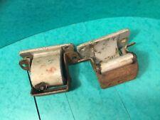 Car door hinge classic car alloy/steel 271'103  R45r  pair second hand