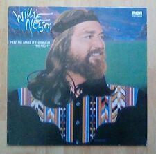 WILLIE NELSON Vinyl LP Help Me Make It Through The Night, (German Pressing) EX