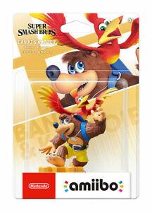 Super Smash Bros Ultimate Banjo & Kazooie amiibo Nintendo Switch  ON HAND