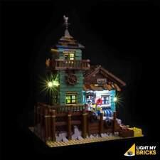 LIGHT MY BRICKS - LED Light Kit for LEGO Old Fishing Store 21030 set - NEW