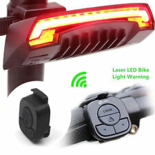 Meilan X5 Bicycle Rear Light Bike Tail Light Remote Control Turn Signals Laser