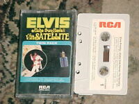"Elvis Presley ""Aloha From Hawaii Via Satellite"" Cassette RCA Victor 1973"