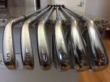 Left Hand Callaway X Forged 2013 Iron Set 5-PW. DG X100 Steel X Stiff. LH
