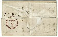 Barbados 1813 stampless cover to England