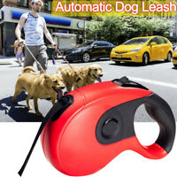 Automatic Hyena Rope Retractable Dog Leash Pet Collar Heavy Duty Lead Traction