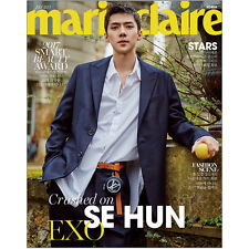 [Marie Claire] Fashion Magazine Korea July 2017.07 _ Se Hun(EXO), Lee Jun Ki