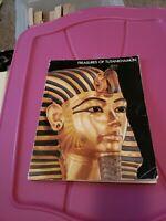 Metropolitan Museum Of Art Treasures Of Tutankhamun 1976 Paperback Book