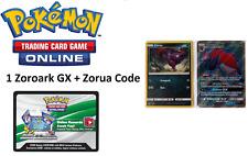 PTCGO Zoroark GX Full Art Promo Holo Card Code IN HAND SHINING LEGENDS SM84
