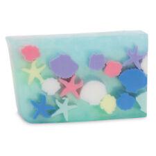 PRIMAL ELEMENTS SEASHELLS & STARFISH 6.0 OZ. VEGETABLE GLYCERIN BAR SOAP